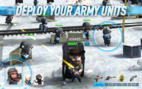 Download War Friends Android Friends Warfare action game + data 2