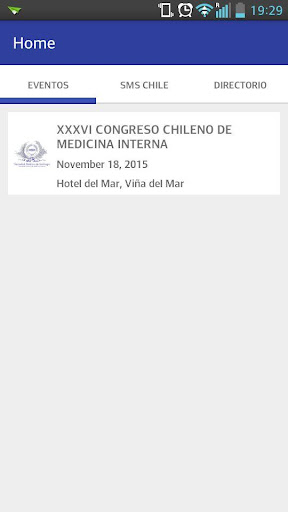 SMS Chile