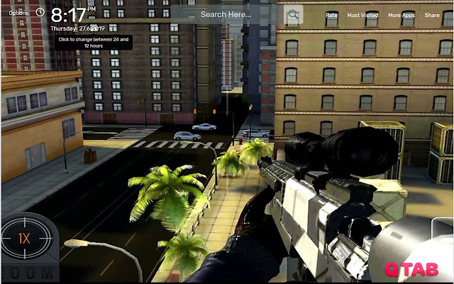 Sniper 3D Assassin Wallpapers New Tab