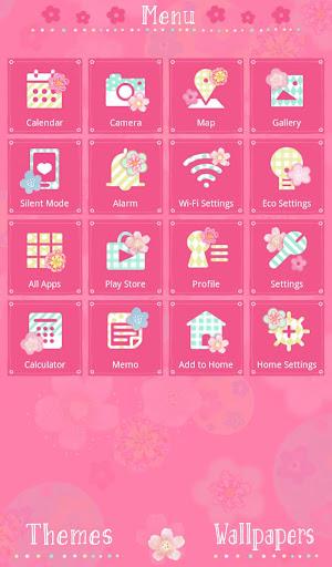 Cute Theme-Flowers and Circles 1.0.1 Windows u7528 2