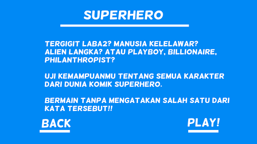Tebak Kata -Charades Indonesia 1.2.1 screenshots 9
