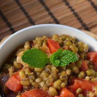 Philippines -- Guinisang Mongo (Mung Beans & Tomato)