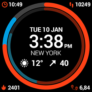 InstaWeather for Android Wear screenshot 14