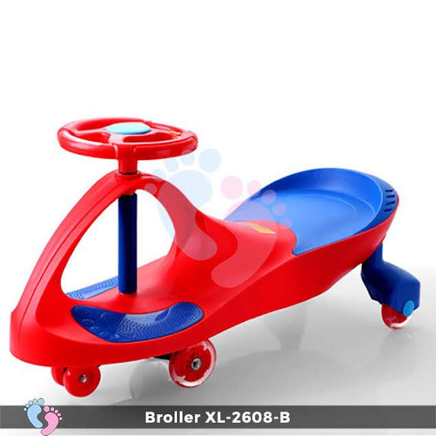 Xe lắc cho trẻ em từ 2 đến 4 tuổi