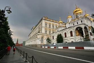 Photo: L'Annonciation et une partie du grand palais