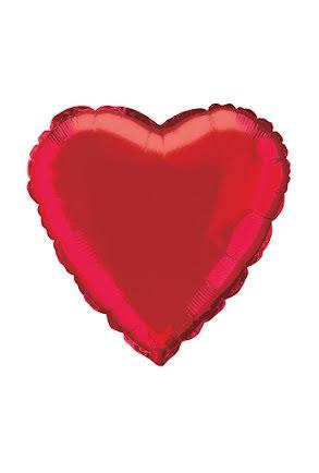 Folieballong, Rött hjärta