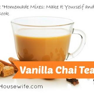Vanilla Chai Tea Mix.
