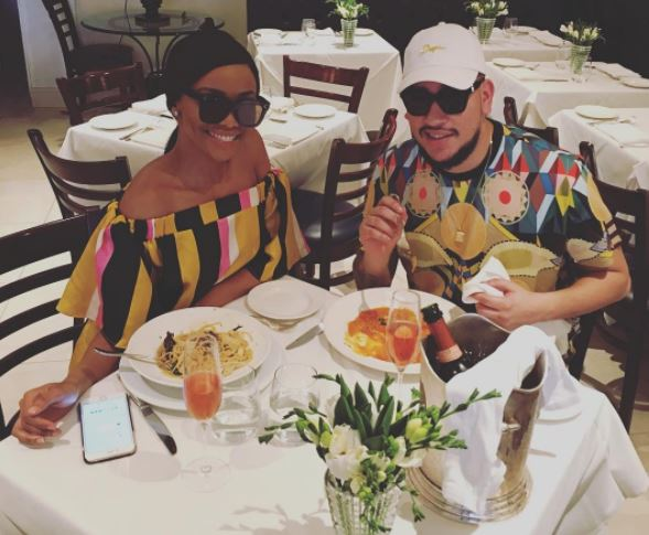 AKA has poured cold water on rumours that he's cheating on Bonang.