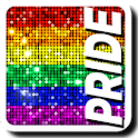 Gay Pride Bling Live Wallpaper icon