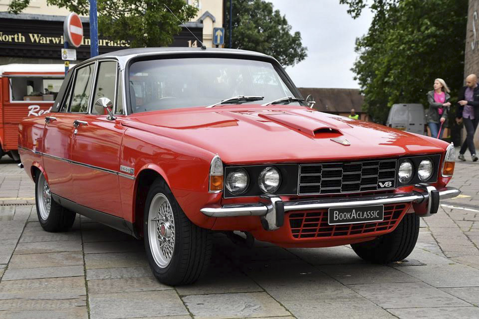 Rover 3500s Hire Rugby