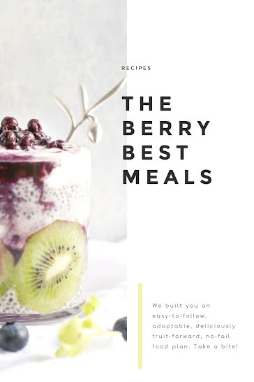 The Berry Best Meals - Pinterest Pin Template
