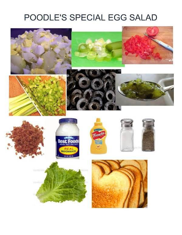 Poodle's Special Egg Salad Recipe