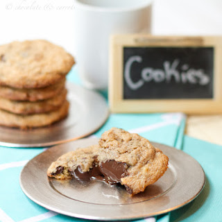 Almond Oat Chocolate Chip Cookies