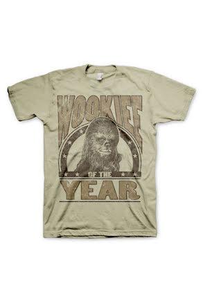 T-shirt, Wookie Herr