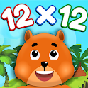 Times Tables + Friends: Free Multiplication Games icon