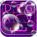Soap Bubble Keyboard Design icon