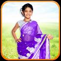 Kids Girl Saree Photo Maker