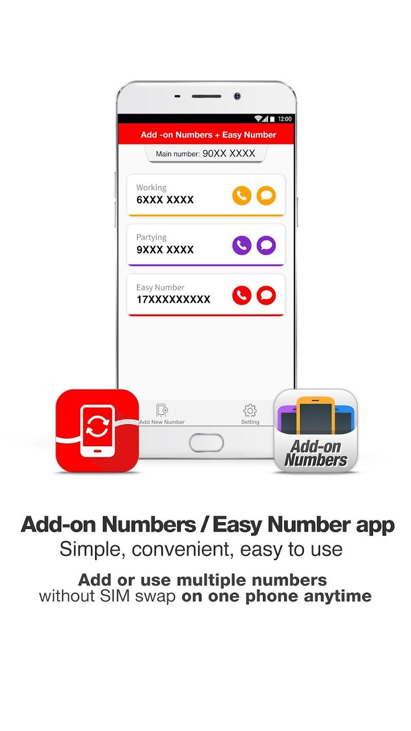 Скриншот Add-on Numbers