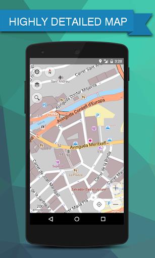マルタ オフライン地図