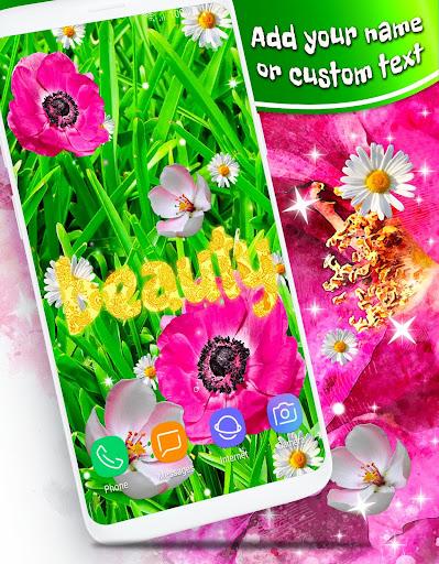 Pink Flower Live Wallpaper 🌺 Parallax Wallpapers ss3