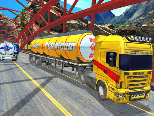 Offroad Oil Tanker Truck Transport Driver 1.6 screenshots 17