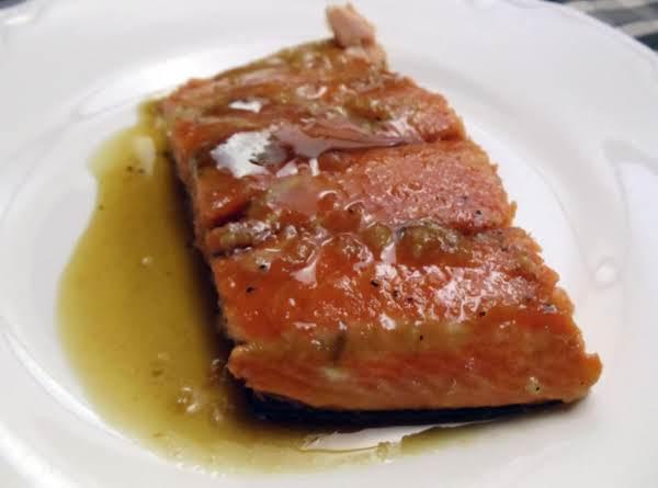 Maple-glazed Salmon Recipe