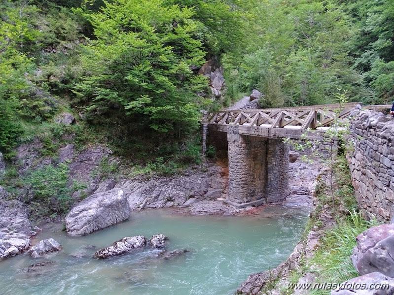 Cañón de añisclo - La Ripareta