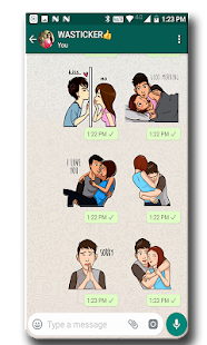 WAStickerApps - Love and Couples Screenshot