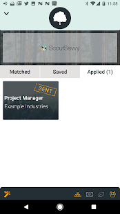 ScoutSavvy Job Search- screenshot thumbnail