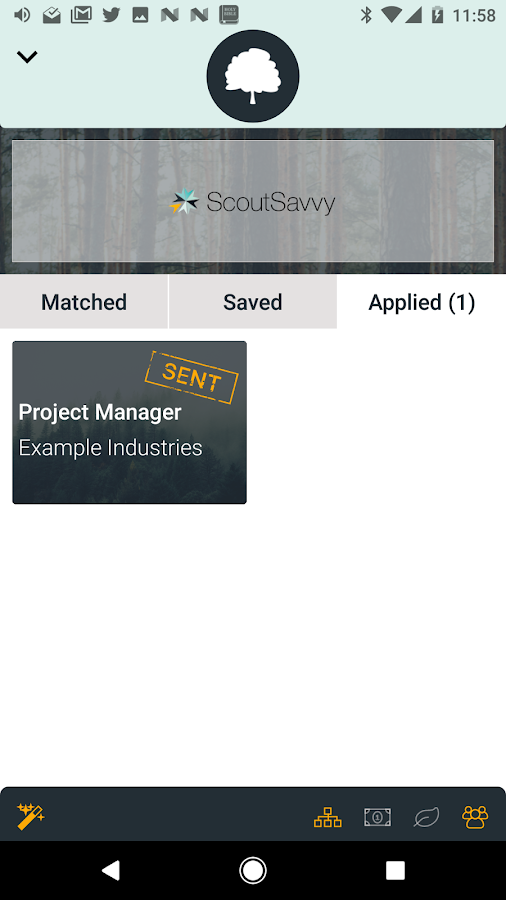 ScoutSavvy Job Search- screenshot