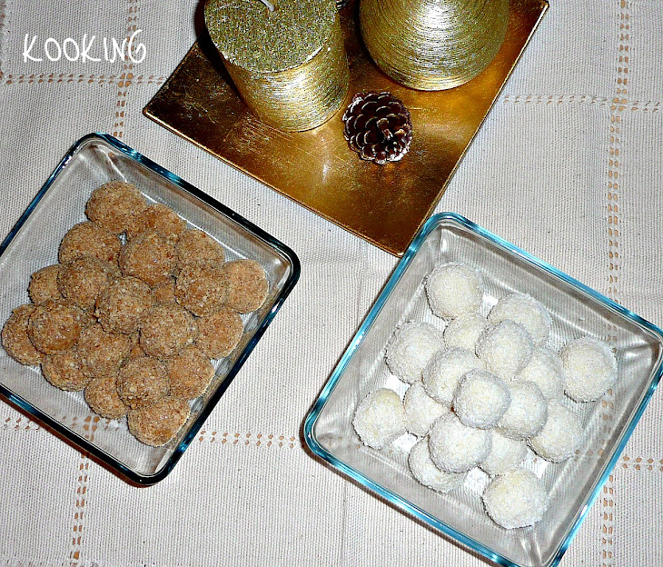 Coconut Cookie Christmas Balls Recipe