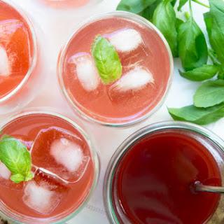 Strawberry Basil Soda.
