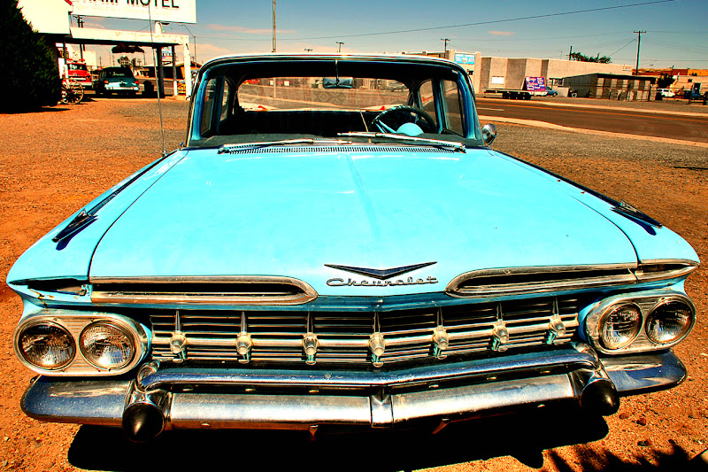 The Blue Chevrolet di photofabi77