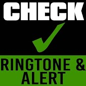 Check Ringtone and Alert