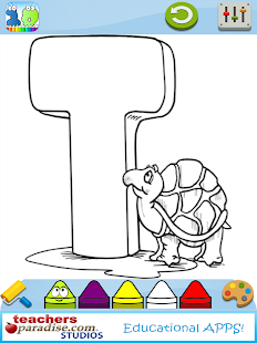 123s ABCs Kids Coloring Book - screenshot thumbnail