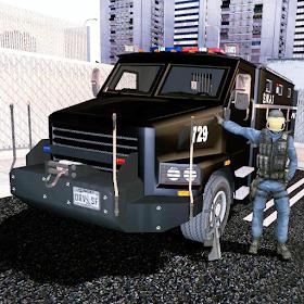 SWAT полицейский автомобиль