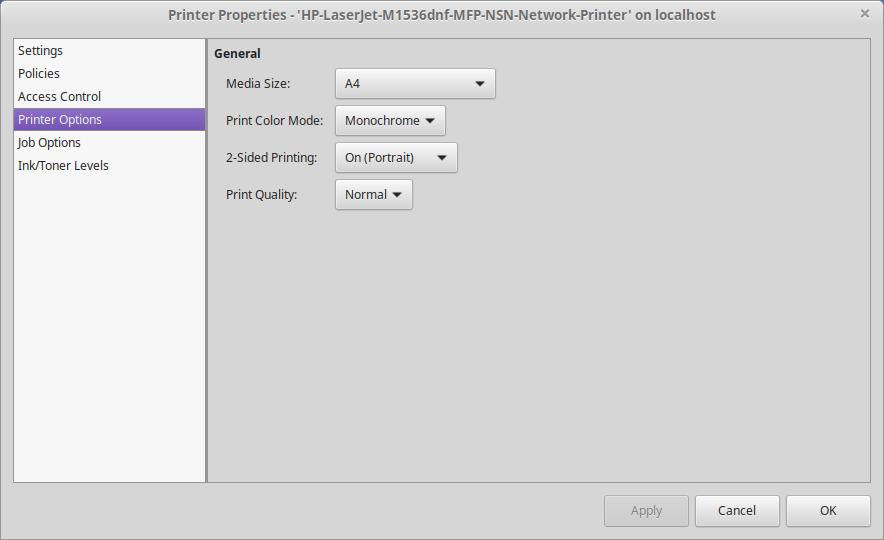 HP Laserjet printer - duplex print not working - Linux Mint Forums