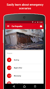 Earthquake -American Red Cross Screenshot 4