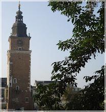 Photo: Torre del antiguo ayuntamiento.Cracovia (Polonia) http://www.viajesenfamilia.it/CRACOVIA.htm
