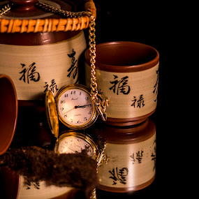 Tea Time I by Greg Bennett - Artistic Objects Still Life (  )