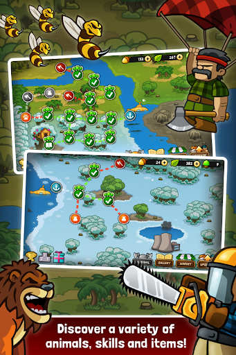 Lumberwhack: Defend the Wild screenshots 2
