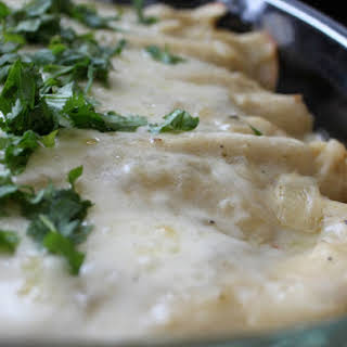 White Chicken Enchiladas Cream Cheese Recipes.