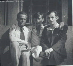Photo: Иона Локштанов, ВПН, Леонид Серпилин, Киев, 1946-1947 гг.