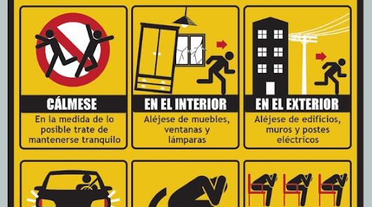Esto es lo que debes hacer mientras hay un terremoto