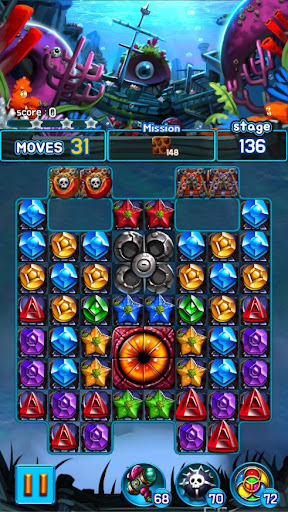 Jewel Kraken: Match3 puzzle 1.2.7 screenshots 4