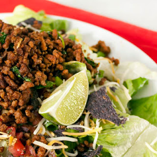 Quick and Easy Taco Salad.