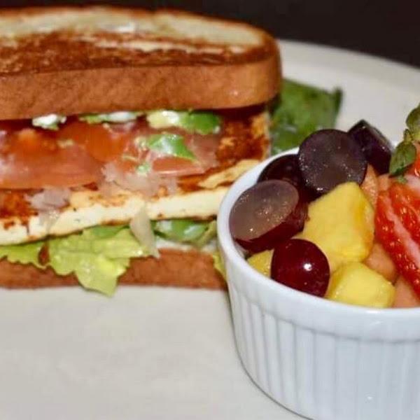 One of our gluten free sandwich vegan Ruben