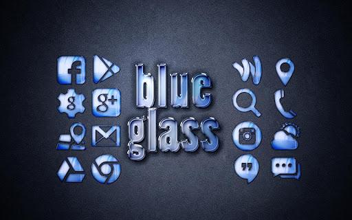 藍色玻璃獨奏啟動主題