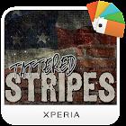 XPERIA Tattered Stripes Theme icon