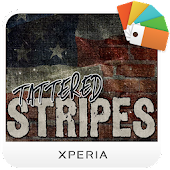 XPERIA™ Tattered Stripes Theme